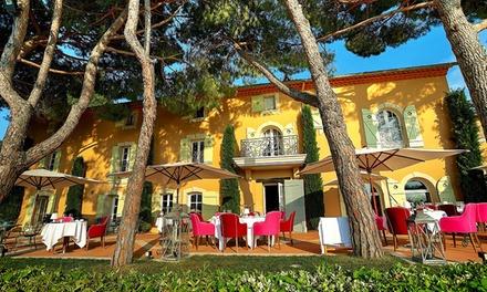 Côte d'Azur : 1 nuitée avec petit déjeuner et dîner en option au Mas Candille 5* pour 2 personnes