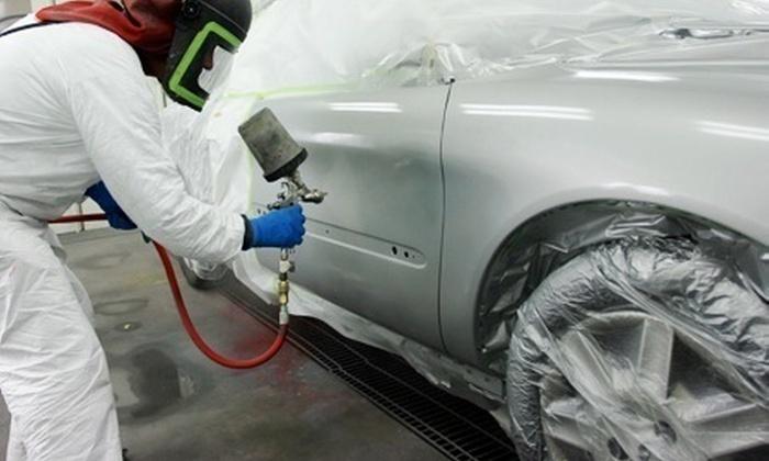 La Palma - LA PALMA (OFFICINA ELETTRAUTO): Riparazione e verniciatura di ammaccature e graffi dell'auto da 99 € invece di 450
