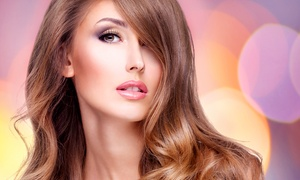 E.S. Parrucchiere: Taglio, piega e in più colore e trattamento a scelta come shatush o meches (sconto fino a 77%)