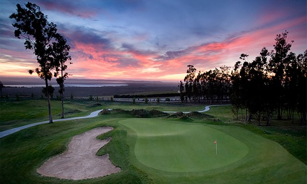 $79 for a One-Hour Lesson for Two with Green Fees and Cart at Monarch Dunes Golf Club ($250 Value)