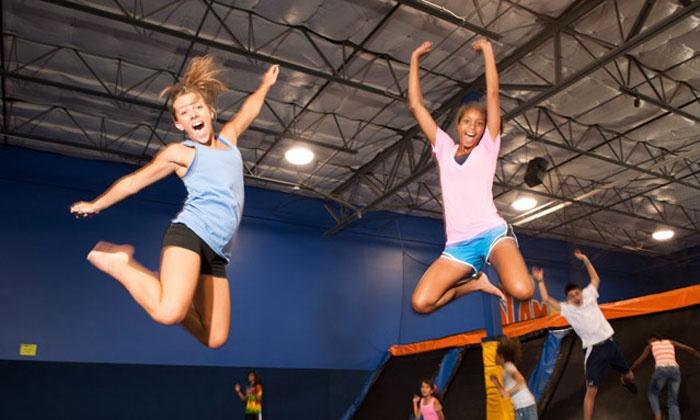 Cosmic Jump - Kansas City - Cosmic Jump: $12 for Two 60-Minute Jump Sessions at Cosmic Jump ($24 Value)