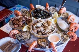 Fish & Eat: Plateau fruits de mer comme lunch ou à emporter à partir de 39,99 € chez Fish & Eat