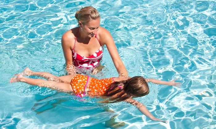 American Woman Fitness Center - Multiple Locations: Swimming Lessons for One or Two or a Pool Party for Up to 12 Kids at American Woman Fitness Center (Up to 60% Off)