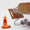 Up to 55% Off a Two-Tier Chrome Dish Rack