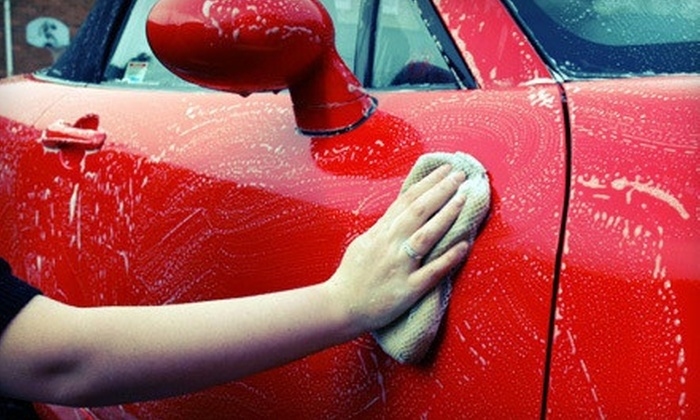 Harv's Car Wash - Multiple Locations: Three Works Car Washes or One Exterior Detail Package with Carpet Shampoo at Harv's Car Wash (Up to 58% Off)