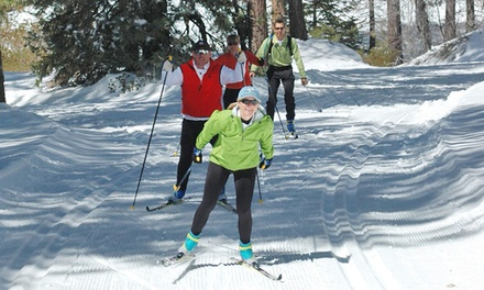 Ski and Snowshoe Passes and Rentals for One or Two at Rim Nordic Ski Area (Up to 51% Off)