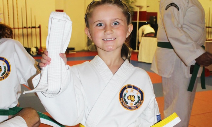 Dragon Fire Martial Arts - Northwest: 12 or 18 Little Ninja Martial-Arts Classes or 6 Kickboxing Classes at Dragon Fire Martial Arts (Up to 68% Off)