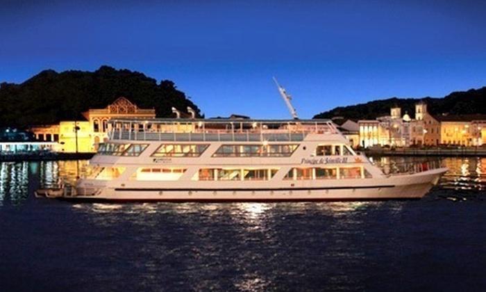 Barco Príncipe - Joinville: Barco Príncipe – Joinville/SC: passeio no barco Príncipe de Joinville III e almoço para 1 pessoa, a partir de R$ 68,90
