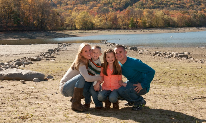 Jacqui C Photography - Westchester County: $59 for a Family-Photography Package with Image DVD from Jacqui C Photography ($300 Value)