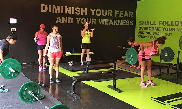 Iron Fit - Stone Oak: One-Month Membership with Unlimited Circuit Training Classes for One or Two at Iron Fit (Up to 75% Off)