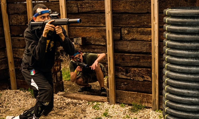 CMP Tactical Lazer Tag Lake Geneva - CMP Tactical Lazer Tag Lake Geneva  Outdoor Location: Two Hours of Outdoor Laser Tag for Two, Four, or Eight at CMP Tactical Lazer Tag – Lake Geneva (Up to 61% Off)