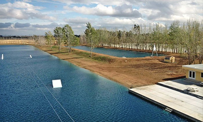 Wake Island - Roseville : Two-Hour, Four-Hour, or Full-Day Wakeboarding Cable Pass with Rental Gear and Coaching at Wake Island (Up to 51% Off)