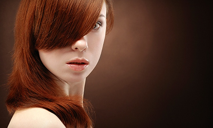 Salon Pure - Chelmsford: Keratin Express Treatment or Haircut with Optional Glaze and Partial or Full Highlights a Salon Pure (Up to 55% Off)