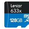 Lexar Class 10 128GB 633x microSDXC Memory Card