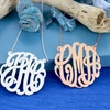 Up to 76% Off Monogrammed Necklace
