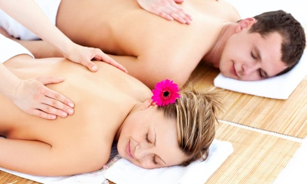 $133 for a Couples Spa Package with Massage, Body Scrub, and Gourmet Lunch at A Day Of Delight ($309.98 Value)