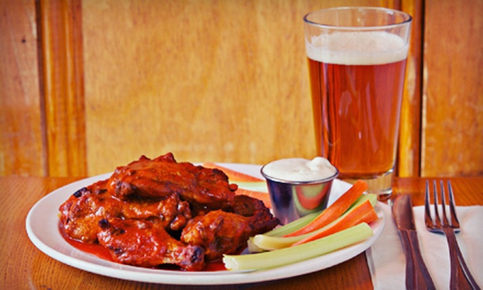 The Argyle Grill & Bar - Downtown Halifax: $15 for 12 Wings and a 60-Ounce Pitcher of Beer at The Argyle Grill & Bar ($30.20 Value)