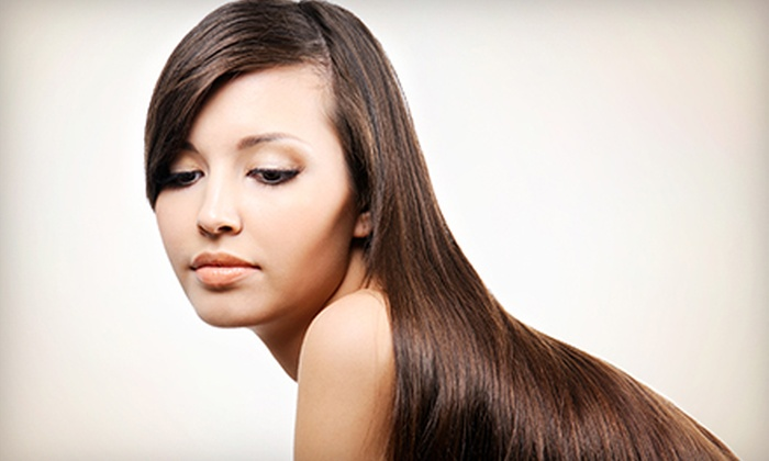 Via Romi Salon - Atwater Village: Blow-Dry and Deep-Conditioning Treatment, or One or Three Brazilian Blowouts at Via Romi Salon (Up to 58% Off)
