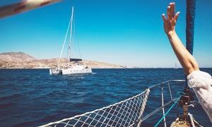 Velero Alquilo: Desde $345 por travesía en velero por el Río de la Plata durante el día, atardecer o noche en Velero Alquilo