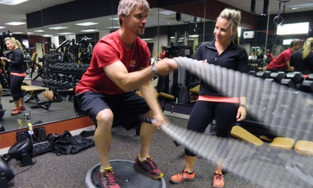 One, Three, or Five 60Minute Personal Training Sessions at 180 Fitness (Up to 52% Off)