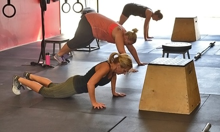 Five or Ten Women's SweatFest Bootcamp Classes at CrossFit AMRAP (Up to 62% Off)