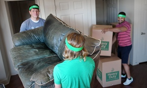 Bellhops: $48 for One Hour of Moving Services with Two Movers from Bellhops ($80 Value)