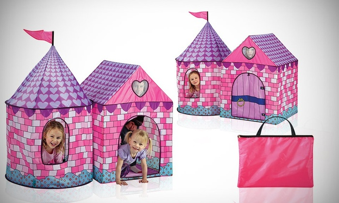 Childrenu0027s Fairy-Tale Deluxe Princess Tent Childrenu0027s Fairy-Tale Deluxe Princess Tent  sc 1 st  Groupon & Childrenu0027s Fairy-Tale Deluxe Princess Tent | Groupon