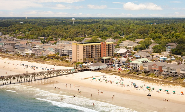 Renovated Oceanfront Hotel Outside Myrtle Beach