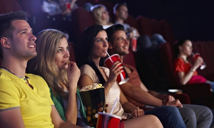 Movie Tickets and Popcorn for Two or Four at Plaza Theatre (33% Off)
