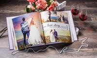 Individuelles Fotobuch Exklusiv 30 x 30 cm mit Sichtfenster und 28 bis 80 Seiten von Colorland (bis zu 79% sparen*)