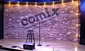 COMIX Mohegan Sun: Comedy Show for Two with Food and Drinks at COMIX Mohegan Sun: May 1 Through August 28
