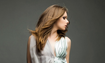 Haircut Package with Optional Partial Highlights or Color, or Keratin Treatment at DH Estetica (Up to 57% Off)