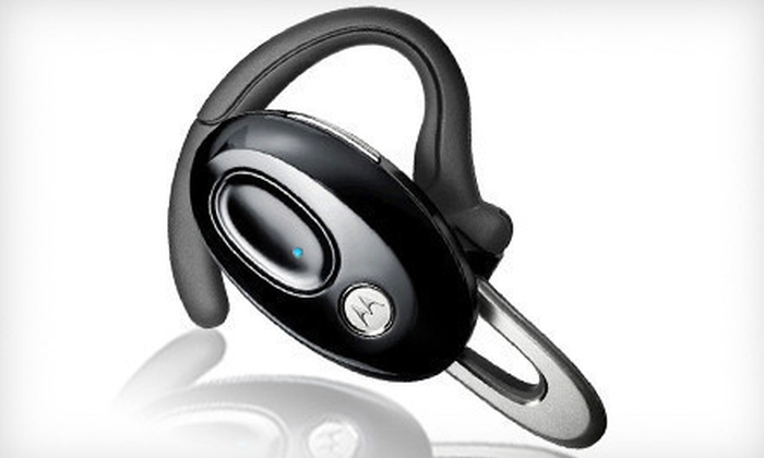 Motorola Bluetooth Headset: $29 for a Motorola Bluetooth Headset ($49.99 List Price). Free Shipping.