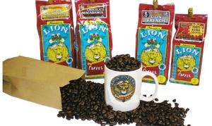 LION Coffee: $17 for $30 Worth of Coffee — Lion Coffee