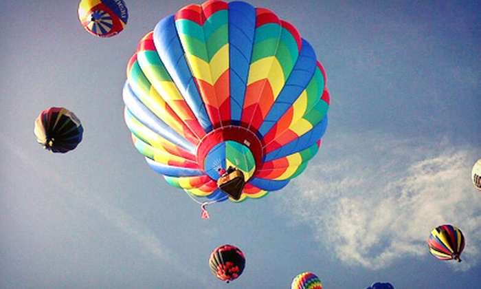 Carolina Balloon Adventures - East Bend: $150 for a Sunrise or Sunset Hot-Air Balloon Ride from Carolina Balloon Adventures (Up to $300 Value)