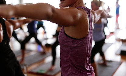 $33 for One Month of Unlimited Hot <strong>Yoga</strong>, Cardio, and Barre Classes at Body Alive ($80 Value)