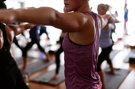 56% Hot Yoga, Cardio, Barre Classes at Body Alive Oakley at Body Alive- Oakley, plus 6.0% Cash Back from Ebates.