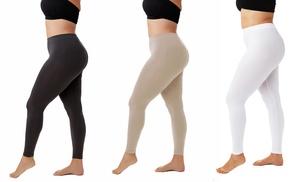 Plus-Size Slimming Leggings | Groupon Goods