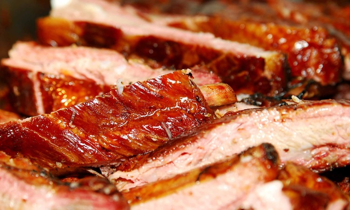 Chicago Ribs - Huntington Beach: $24 for $40 Worth of Baby-Back Ribs and Chicago-Style Barbecue at Chicago Ribs