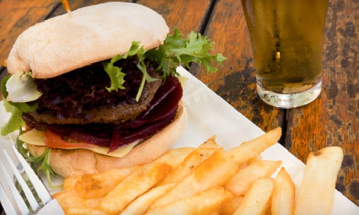 Eastside Bistro - Colonial Town Center: Burgers with Beer or Wine for Two or Four at Eastside Bistro (Up to 54% Off)