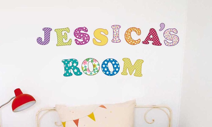 stickers chambre d 39 enfants groupon. Black Bedroom Furniture Sets. Home Design Ideas