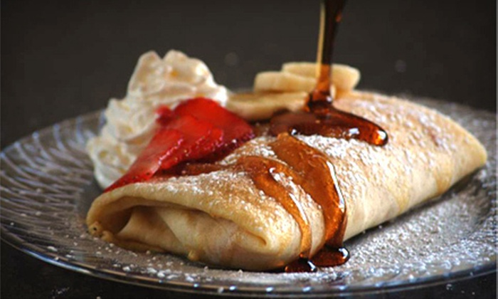 Roll Up Crepes - Curtis: Crepes for Two or Four with Chips or Ice Cream at Roll Up Crepes in Orem (Up to 53% Off)