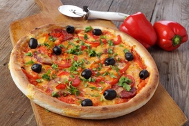 Kitsap Pizza: Any Two Large Combination Pizza's for $25 (Originally a $32 value) at Kitsap Pizza