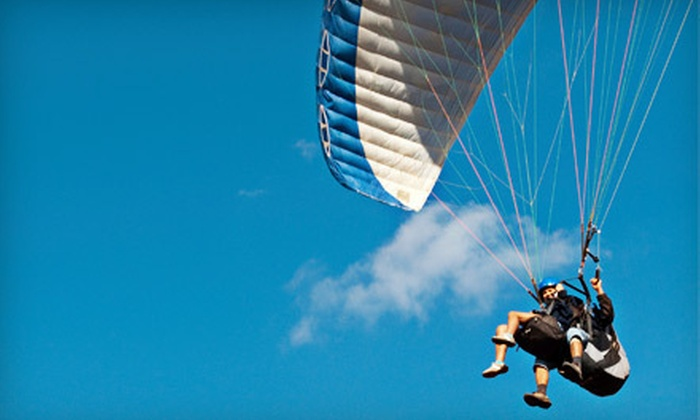 Just Fly Paragliding - Bakersfield: $125 for a Tandem Paragliding Flight from Just Fly Paragliding in Bakersfield (Up to $250 Value)