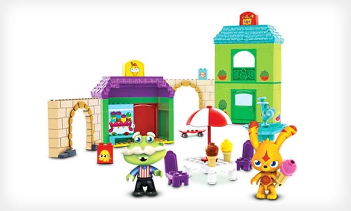 """Mega Bloks """"Moshi Monsters"""" Play Set: $13 for a Mega Bloks """"Moshi Monsters"""" Ooh La Lane Deluxe Play Set ($29.99 List Price)"""