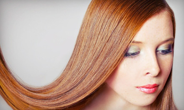 Salon Blu - Mayfield Village: One or Three Smoothing or Straightening Treatments at SalonBlu (Up to 69% Off)