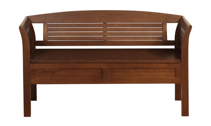 Jcpenney Foyer Furniture : Arlington entryway storage bench groupon goods