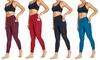 Bally Fitness High Rise Pocket Ankle Leggings