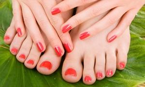Salon Fryzjersko-Kosmetyczny Gracja: Henna brwi i rzęs z regulacją (12,99 zł) oraz manicure'em (24,99 zł) w Salonie Gracja w Bielsku-Białej