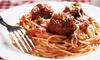 De Luca's Italian Restaurant - Lowell: Italian Cuisine at De Luca's Italian Restaurant (Up to 45% Off). Two Options Available.